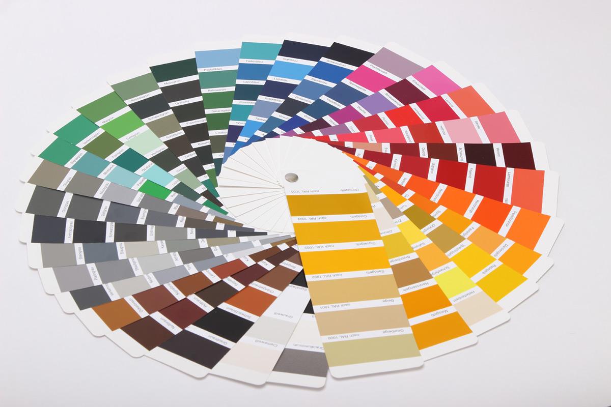 Farbfächer RAL Farben